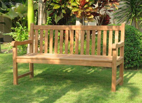 Bancos de jard n de teca muebles de teca espa a for Bancos exteriores jardin